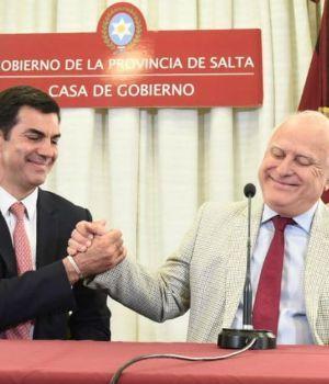 Urtubey y Lifschitz firman acuerdo para que Salta use biodiesel en transporte urbano