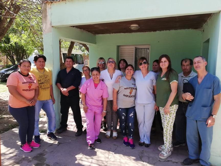 El equipo PEI brindó antención médica en La Tigra y Plaza