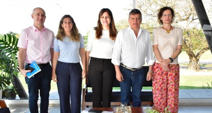 Peppo y representantes de UNICEF hicieron un balance del trabajo conjunto