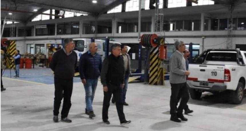 Inauguración de refacciones en los Talleres de Vialidad Provincial