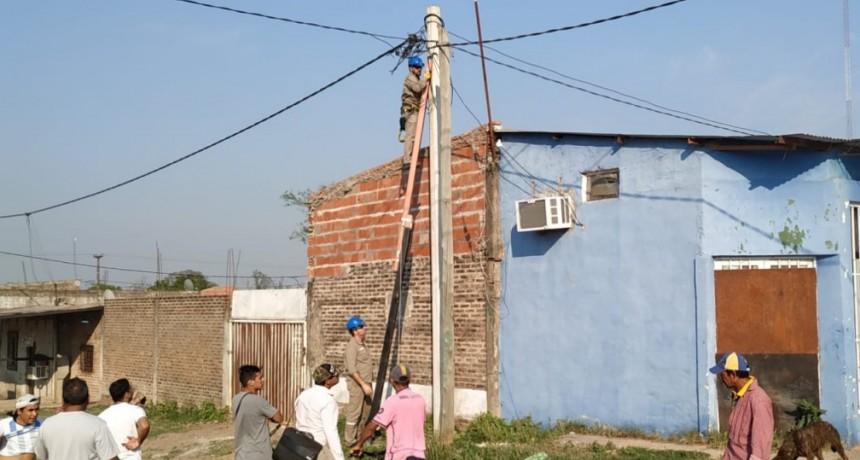 SECHEEP denunció conexiones clandestinas en terrenos usurpados