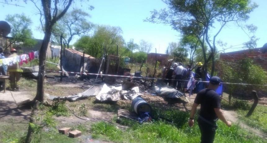 Grave Incendio en un asentamiento de Resistencia