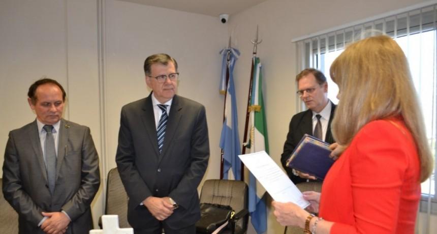 Asumió el nuevo Ministro de Gobierno Provincial