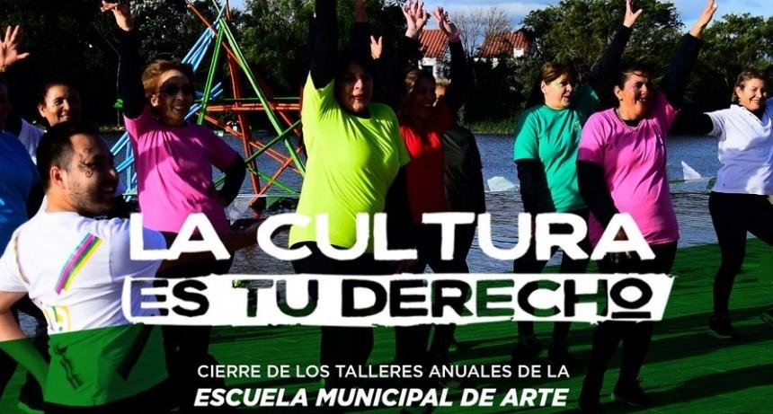 Gran cierre anual de los talleres del Programa La Cultura es tu Derecho