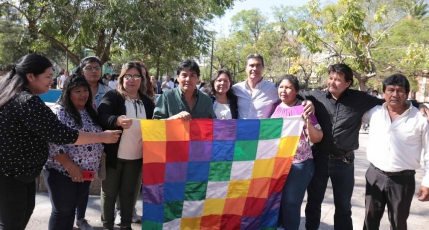 Capitanich encabezó el acto en conmemoración al Día del Respeto a la Diversidad Cultural