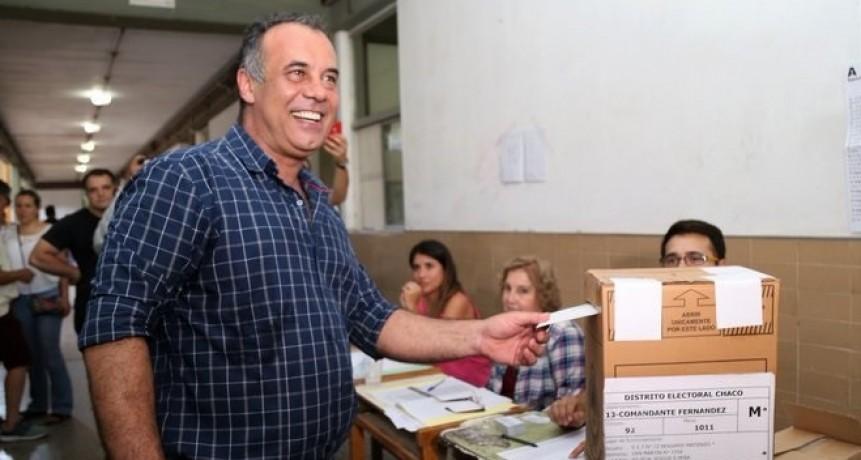 Votó el vicegobernador Daniel Capitanich