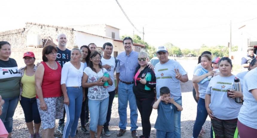 El Municipio realizó tareas de mejoras en los barrios El Bolsón y Villa Río Negro