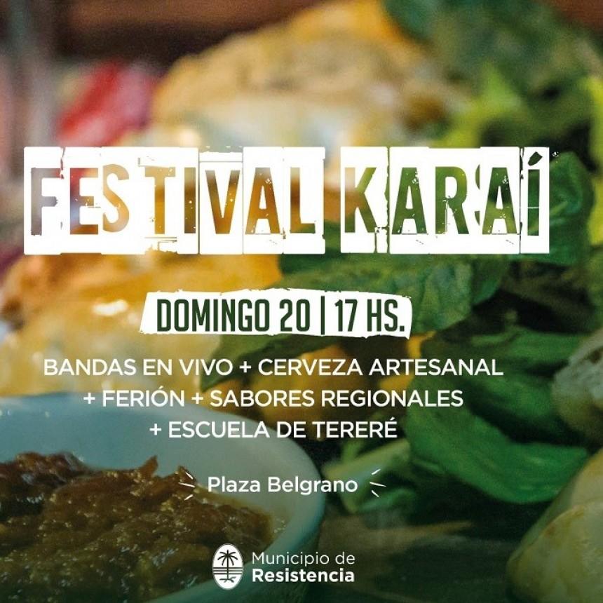 Este domingo se realizará el Gran Festival Karaí