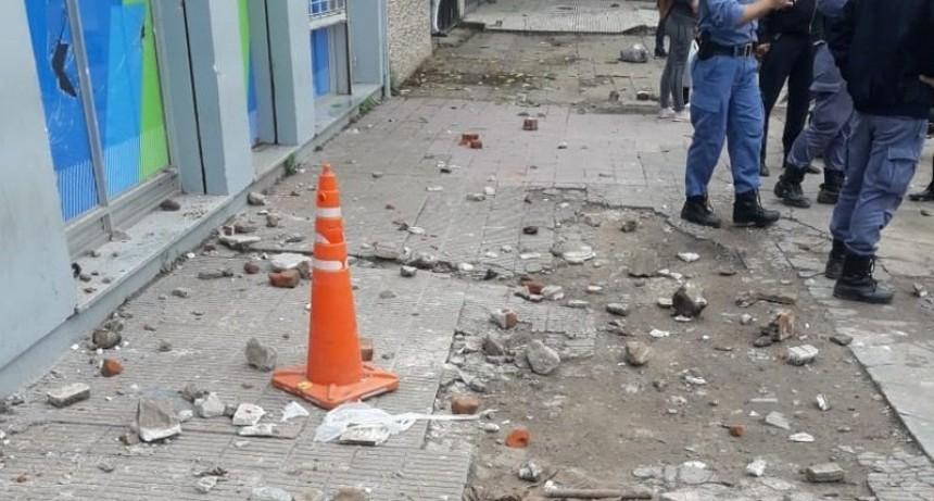 Otro de los acusados por los daños a una sede de Desarrollo Social se entregó esta mañana