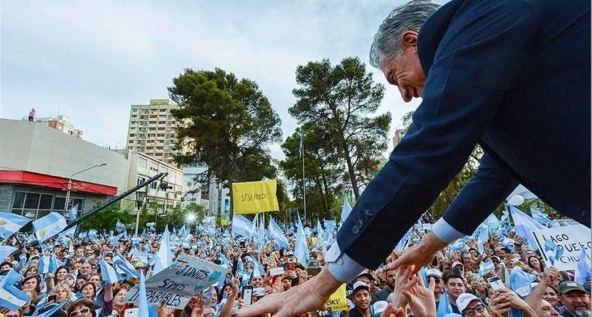 Macri encabeza en Mar del Plata la marcha del