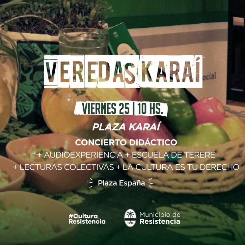 """Este viernes """"Plaza Karaí"""" junto a escuelas de la ciudad"""