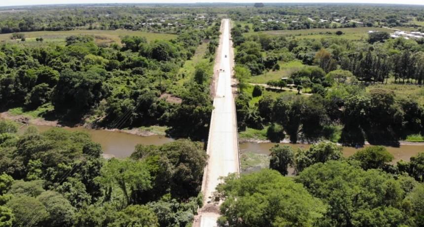 Vialidad Provincial ejecuta trabajos en la Ruta 1