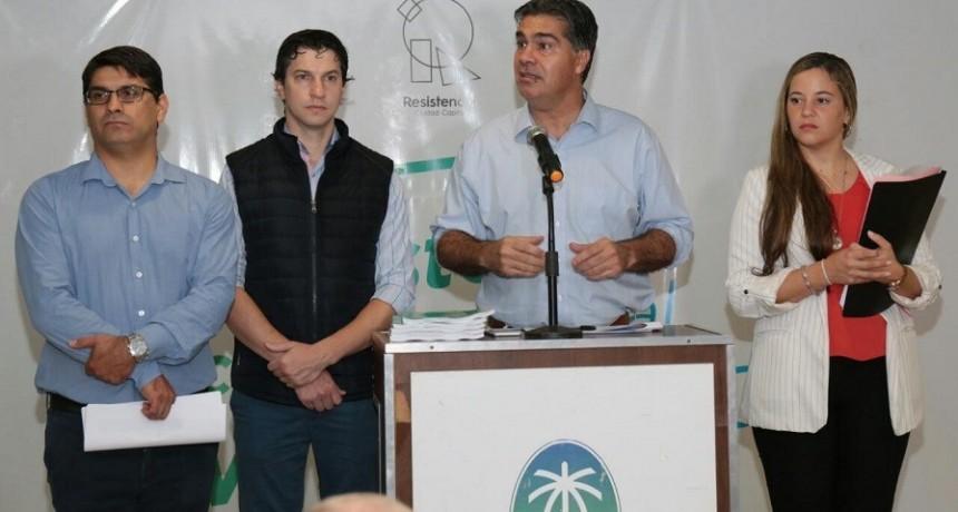 Capitanich presentó el presupuesto municipal 2020