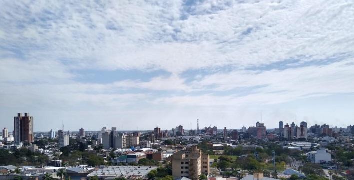 SMN | Chaco: Miércoles con sol, nubes y una máxima de 37º