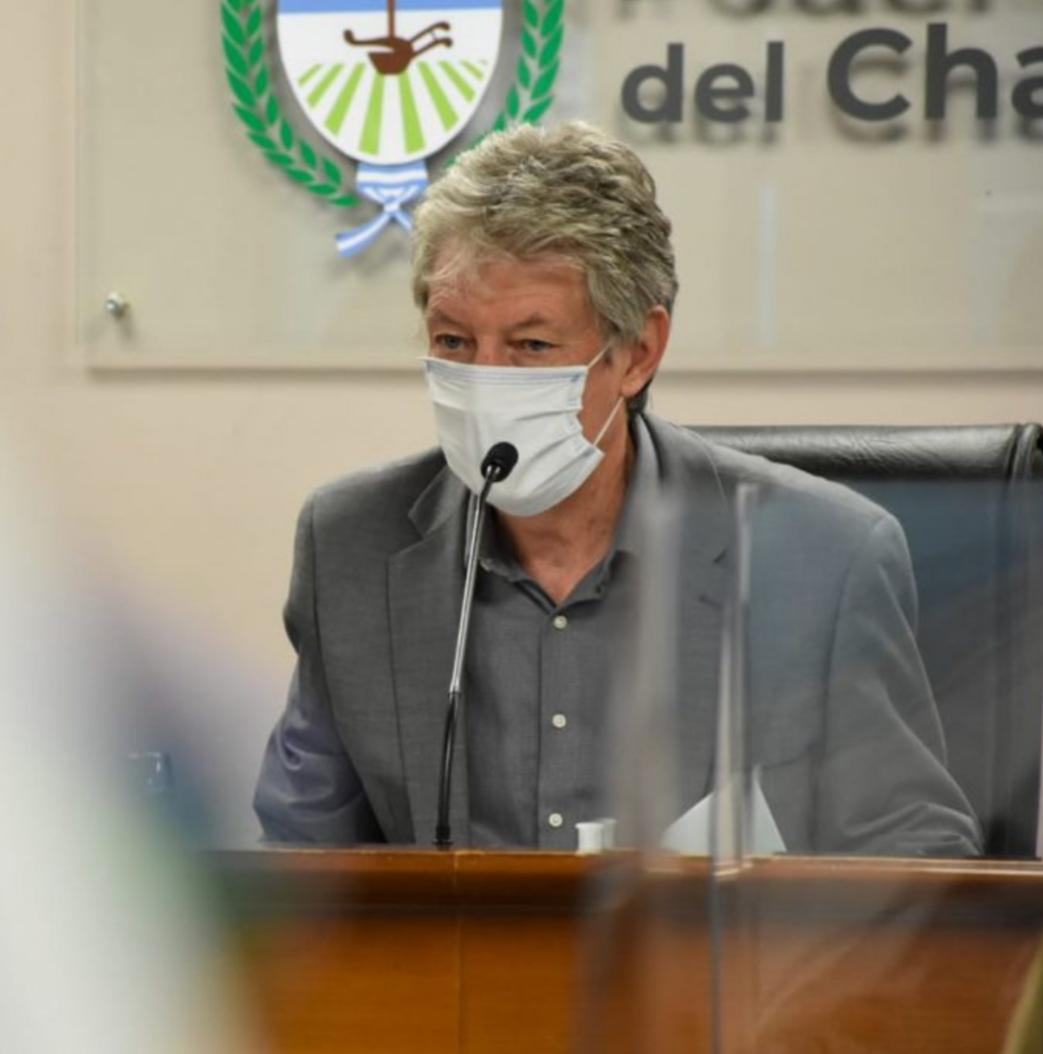 Chaco: Respetando el protocolo, Sager seguirá presidiendo la Legislatura de manera remota a pesar de haber dado negativo para Covid-19