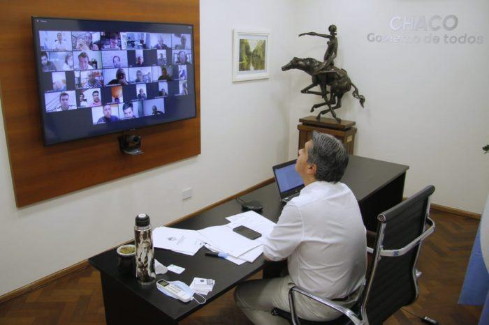 Chaco conectado: Capitanich, ENACOM, ECOM y cableoperadores de toda la provincia avanzan en el plan de universalización de servicios de internet