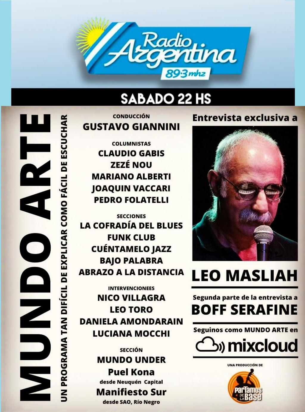 MUNDO ARTE capítulo 62 por Radio Argentina