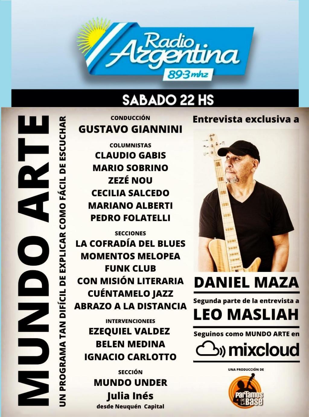 MUNDO ARTE capítulo 63 Escúchalo por Radio Argentina