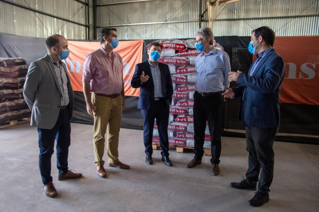Capitanich inauguró la planta de alimentos balanceados del grupo Insuga en Puerto Tirol