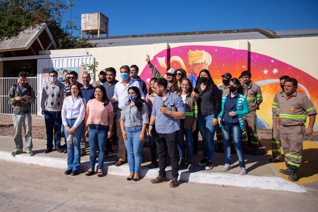 Resistencia: provincia y municipio inauguraron la apertura y pavimentación de Marcelo T. De Alvear en Villa Alta
