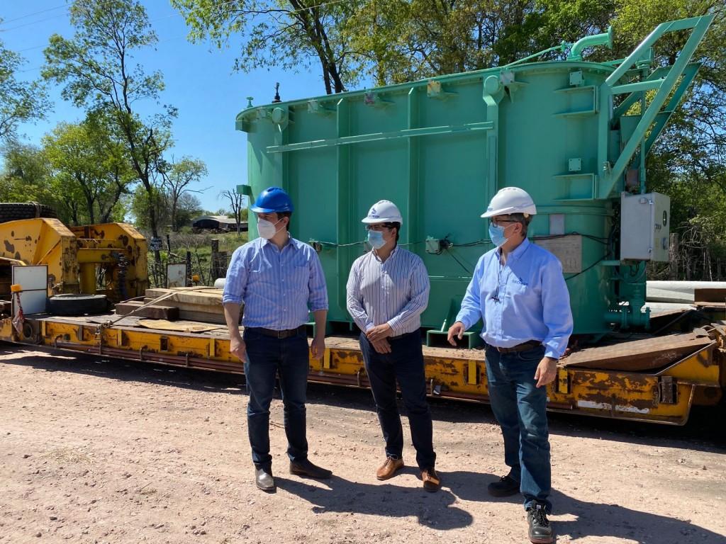 Secheep: nuevo transformador para duplicar la capacidad energética de Machagai