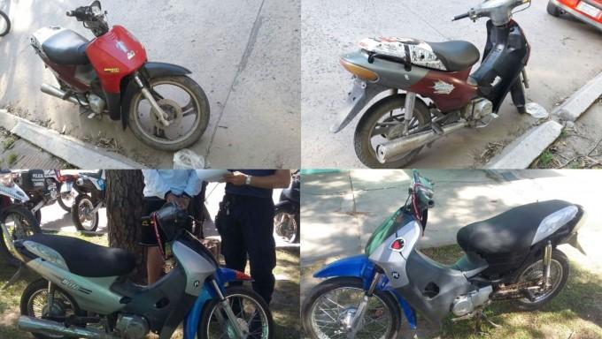 OPERATIVO DE MOTOS: CAMINERA RECUPERA 2 MOTOS ROBADAS