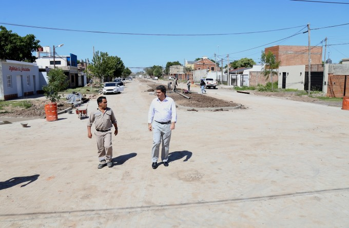 Este domingo, el Municipio inaugura obra de pavimento urbano en la avenida Italia