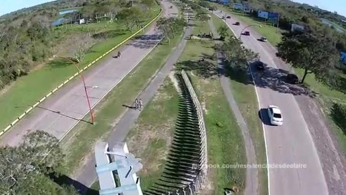 El tránsito sobre avenida Sarmiento y colectora de Nicolás Avellaneda se interrumpirá mañana por la realización de la maratón Tierra Avanza