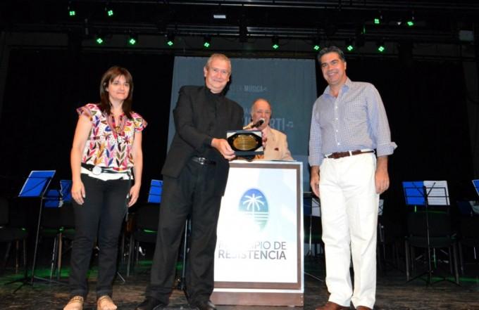 Días de Música: emotivo homenaje al ex director de la Banda Municipal, Alfio Gusberti