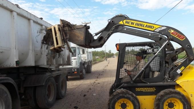 Secretaría de Ambiente realiza trabajos de recuperación ambiental y limpieza en la zona de  Laguna Prosperidad