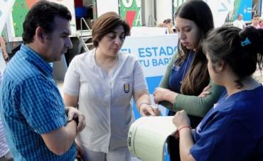 EL ESTADO EN TU BARRIO: SALUD ABASTECIÓ DE INSUMOS Y VACUNAS PARA EL OPERATIVO NACIONAL