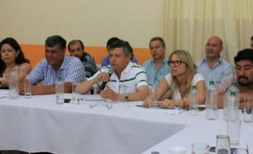 PEPPO JUNTO A INTENDENTES JUSTICIALISTAS AVANZARON EN GESTIONES
