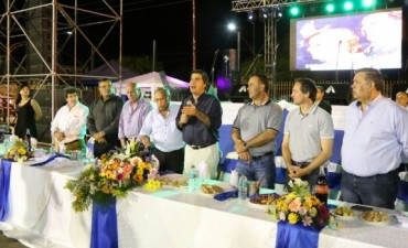Capitanich participó del Bingo de Trabajadores municipales que congregó a más de 16 mil personas