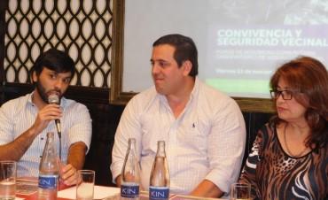 Funcionarios del municipio participaron de la presentación de plan de seguridad en Corrientes