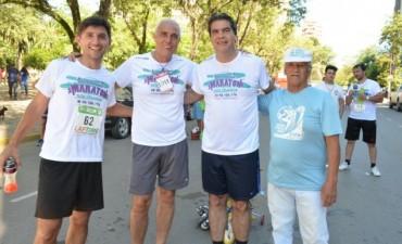 Capitanich participó de la maratón Tierra Avanza