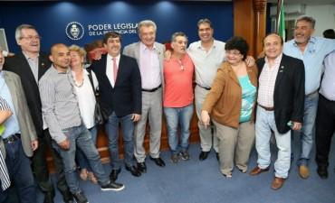 Capitanich y el Concejo homenajearon a la militancia socialista