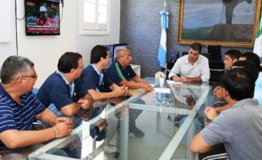 Capitanich recibió a organizadores del Campeonato Nacional de Fútbol para Amputados que se realizará en Resistencia