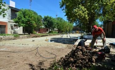 APUESTA AL DESARROLLO DEPORTIVO: GOBIERNO INICIÓ LA PAVIMENTACIÓN DE CALLES ALEDAÑAS AL CHACO FOR EVER