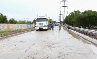Día de la Soberanía Nacional: el municipio inaugura pavimento en la avenida Combate Vuelta de Obligado