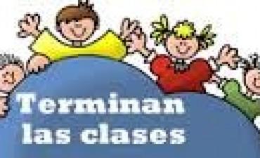 LAS ESCUELAS PRIMARIAS TERMINARÁN LAS CLASES EL 7 DE DICIEMBRE