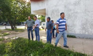 Bolatti recorrió Villa Asunción y se comprometió a mejorar iluminación, limpieza y erradicar minibasurales