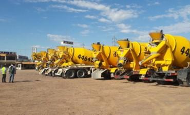 El municipio controla transportes de carga hormigoneras