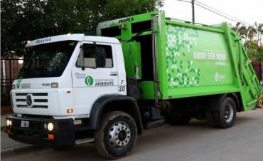Por el asueto del Día del Empleado Municipal el viernes no habrá recolección de residuos