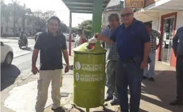 El municipio emplazó dos puntos de recolección diferenciada de aceites de cocina usados