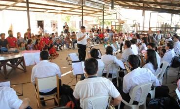 """El Municipio invita a los vecinos a participar del encuentro """"Vamos las Bandas"""""""