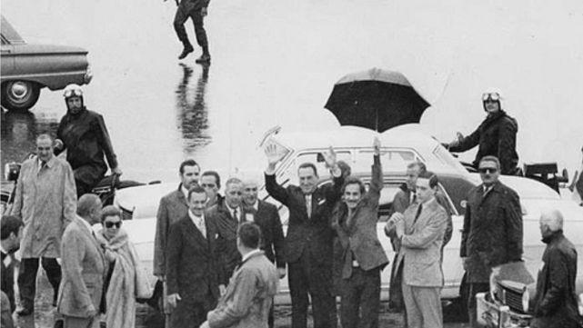 45 años atrás, el general Perón volvía al país