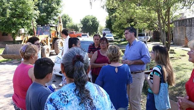 El intendente acordó agenda de trabajo con vecinos del 244 Viviendas