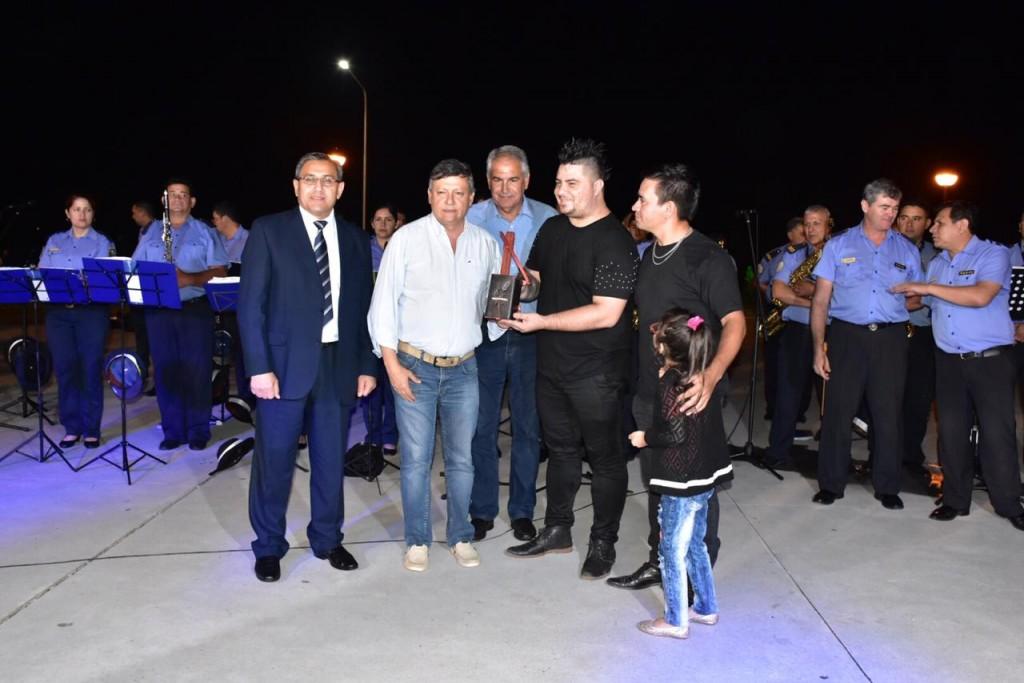 El gobernador Domingo Peppo, encabezó los festejos por el Día de la Música