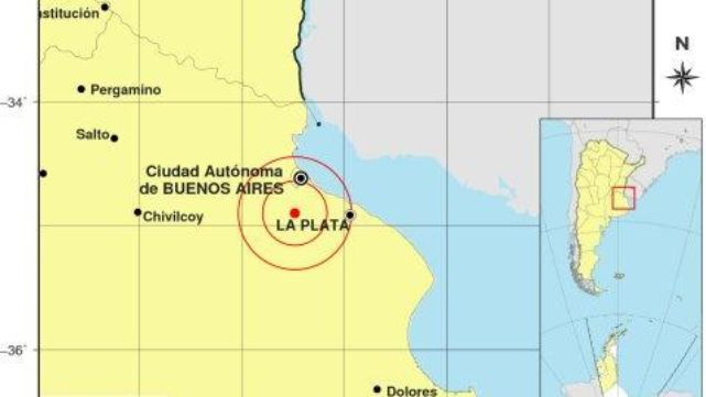 Fuerte temblor sacudió zona Sur y parte de Capital Federal