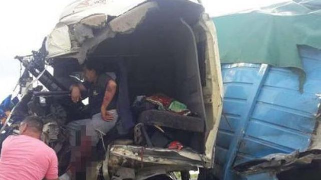Impactante: camionero sufrió brutal accidente y tuvieron que amputarle la pierna